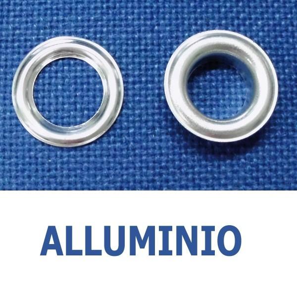Occhielli in alluminio (conf. 1000 pz)