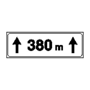 Esempio di grafica dei cartelli stradali integrativi
