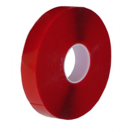 Biadesivo trasparente per esterni spessore 1 mm