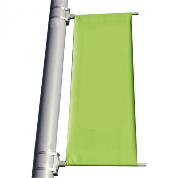 Porta banner con aggancio laterale