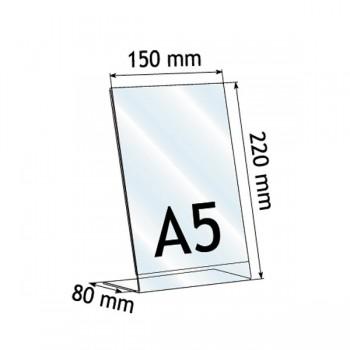 Forma e dimensioni del formato A5 verticale