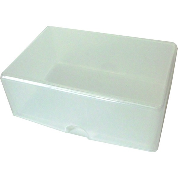La scatoletta porta bilgietti da visita chiusa