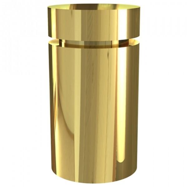 Wall Mounted Basic - Versione alluminio e finitura oro lucido