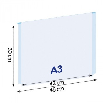 Tasche Easy in formato A3 orizzontale