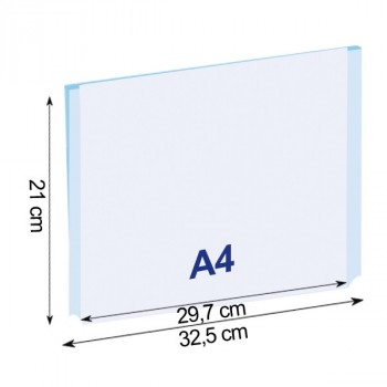 Tasche Easy in formato A4 orizzontale