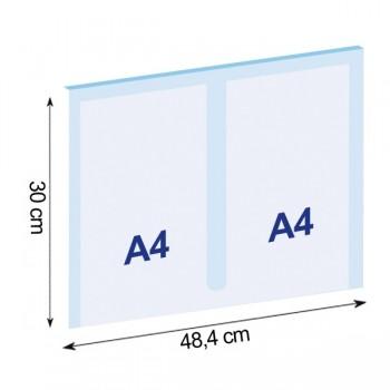 Tasche Easy in formato A4 verticale doppio