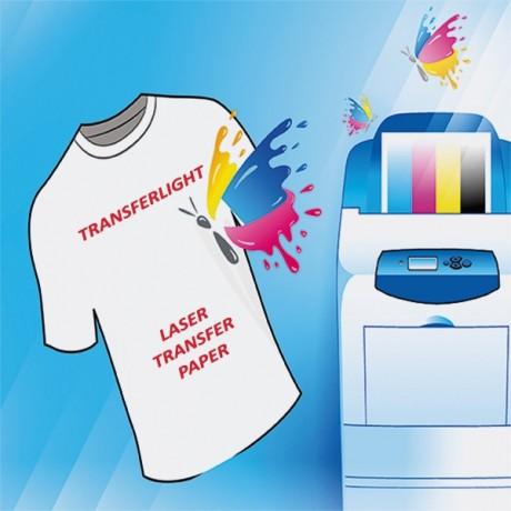 Sihl  tessuti chiari stampa toner Transfer Light Paper