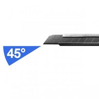Lame di ricambio 9 mm 45° Razar Black  conf. 10 lame