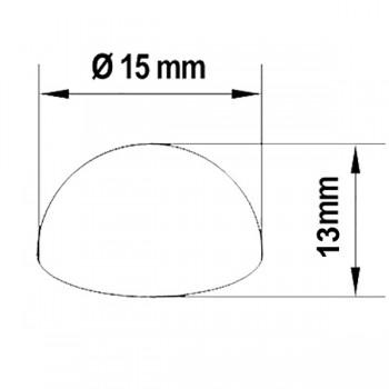 Disegno tecnico coprivite a sfera