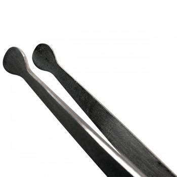 Pinzette per spellicolatura con punte piatte arrotondate