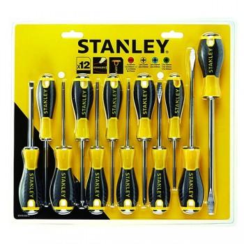 Set 12 cacciaviti essential Stanley