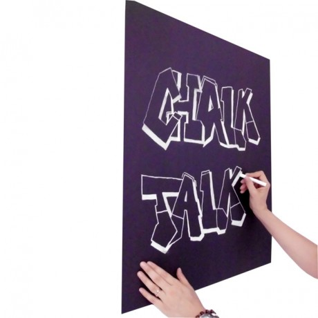 Lavagna adesiva nero opaco scrivibile - vendita a rotolo
