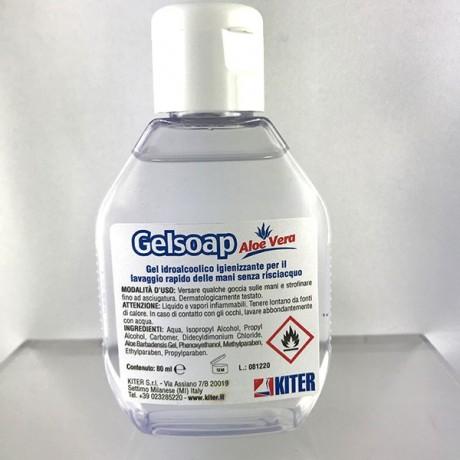 Sapone in gel igienizzante da tasca 0,80 ml