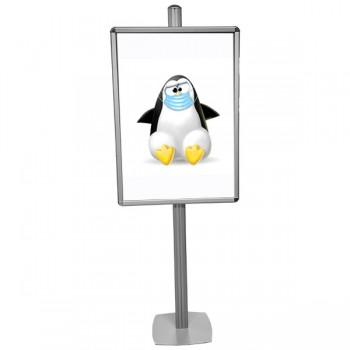 Porta poster 70x100 cm in...